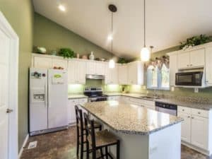 Consider the kitchen space available