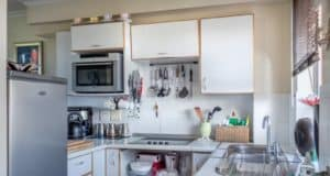 What is included in a fully equipped kitchen