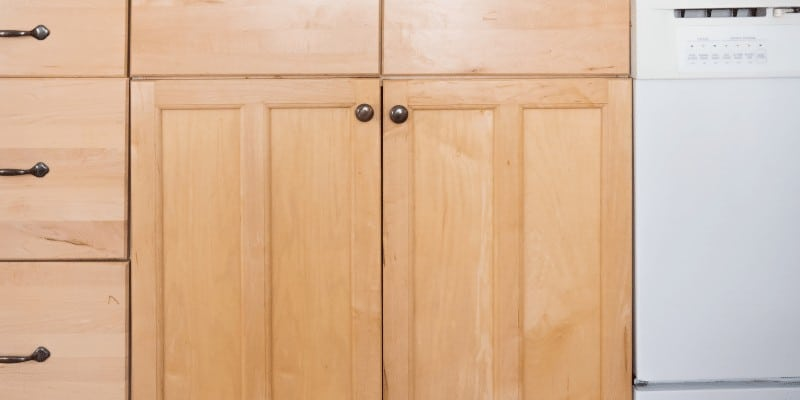 How to Repair Water Damaged Kitchen Cabinets