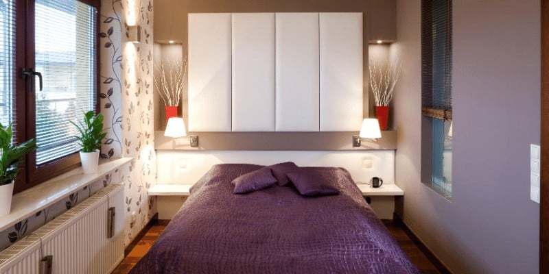 17 Tips to Fit a Full-Size Bed in a Small Room