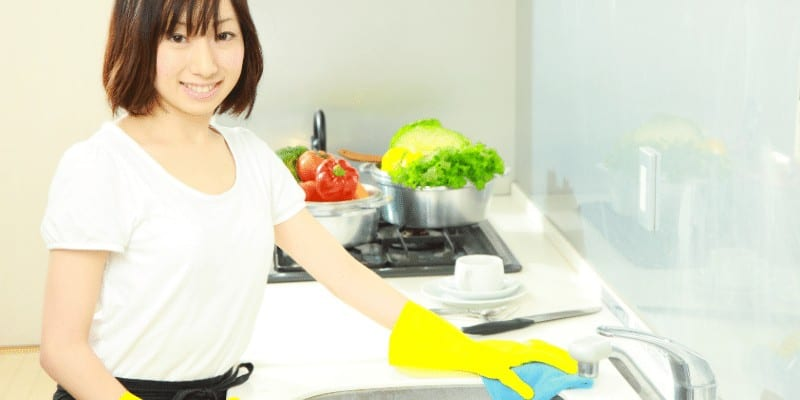 What Is the Effect of Using Oven Cleaners on Kitchen Countertops